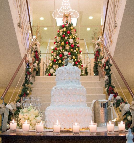 Villa Calvo - Torta nuziale natalizia