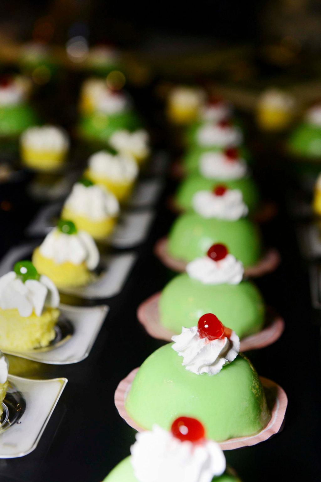 banchetto di nozze dolci