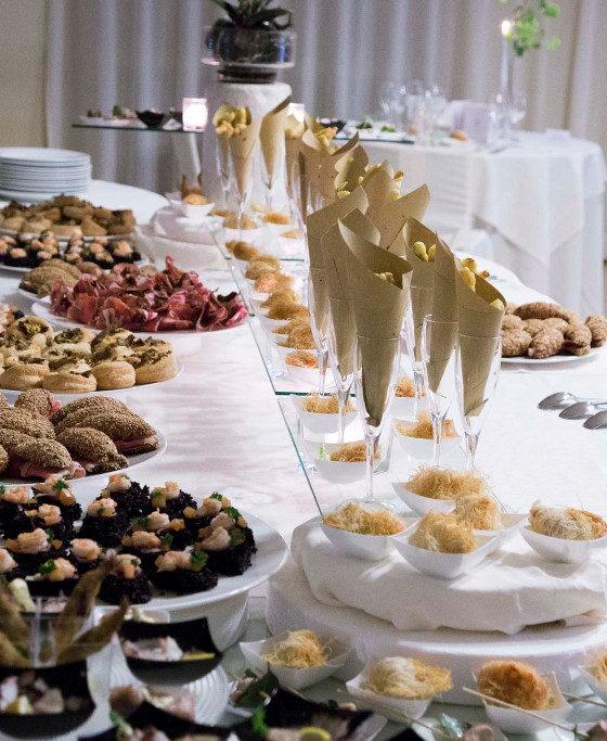 buffet di benvenuto